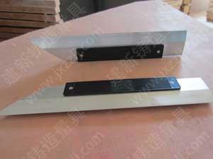 刀口尺/镁铝刀口尺,主要是用于检测平板、平尺、机床工作台、导轨和精密工件的平面度、直线度