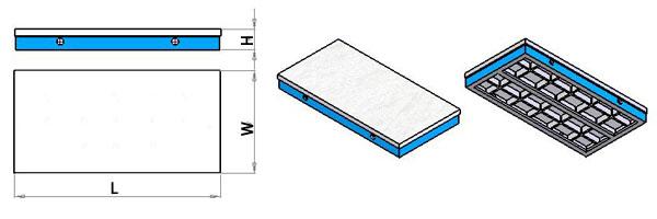 铸铁平台规格