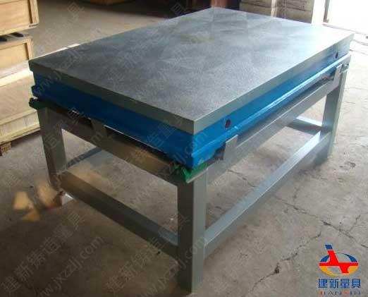 配套支架铸铁测量平台